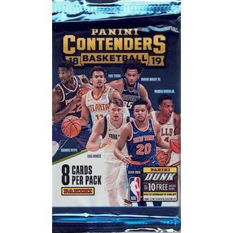 2018/19 Panini Contenders Basketball Blaster Pack