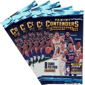 2018/19 Panini Contenders Basketball Blaster Pack (Lot of 5) = 1 Blaster Box