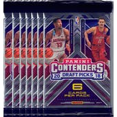 2018/19 Panini Contenders Draft Basketball Blaster Pack (Lot of 7) = 1 Blaster Box