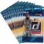 2018/19 Panini Donruss Basketball Blaster Pack (Lot of 11) = 1 Blaster Box
