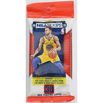 2018/19 Panini Hoops Basketball Jumbo Fat Pack
