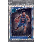 2018/19 Panini Donruss Optic Basketball Shock Parallel Rated Rookie Complete Set SEALED