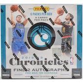 2018/19 Panini Chronicles Basketball Hobby Box