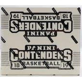 2018/19 Panini Contenders Basketball Fat Pack Box