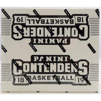 2018/19 Panini Contenders Basketball Jumbo Fat Pack Box