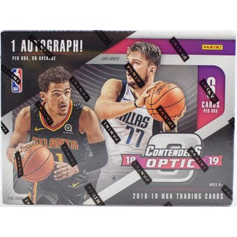 2018/19 Panini Contenders Optic Basketball 5-Box- DACW Live 30 Spot Random Team Break #1