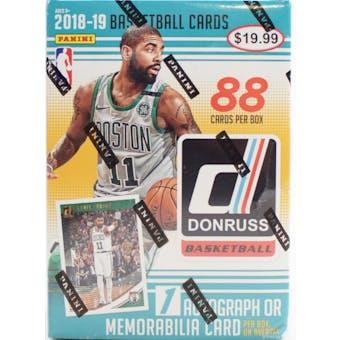 2018/19 Panini Donruss Basketball 11-Pack Blaster Box