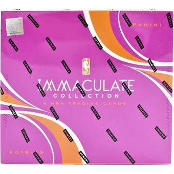 2018/19 Panini Immaculate Basketball 5-Box Case- DACW Live 30 Spot Pick Your Team Break #2