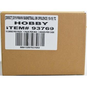 2018/19 Panini Opulence Basketball Hobby 3-Box Case