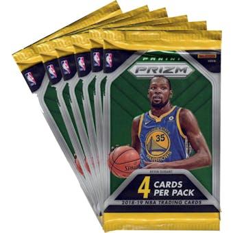 2018/19 Panini Prizm Basketball Blaster Pack (Lot of 6) = 1 Blaster Box