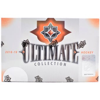 2018/19 Upper Deck Ultimate Collection Hockey 8-Box Case- DACW Live 31 Team Random Break #4