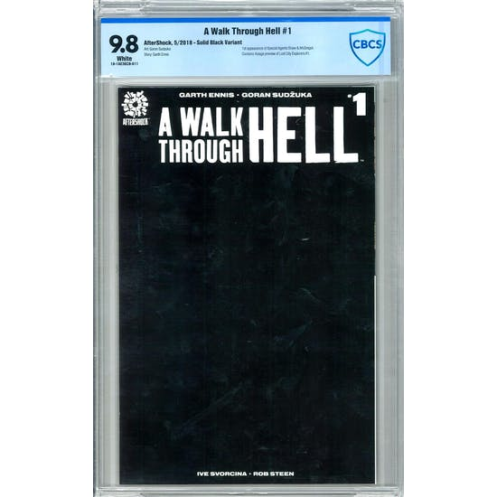 A Walk Through Hell #1 CBCS 9.8 (W) *18-1AE36CB-011*