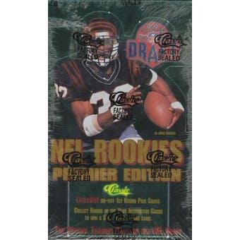1995 Classic Draft Picks Football Hobby Box