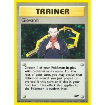 Pokemon Gym Challenge Single Trainer Giovanni 18/132