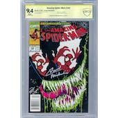 Amazing Spider-Man #346 CBCS 9.4 (W) Newsstand *18-309BF4D-032*