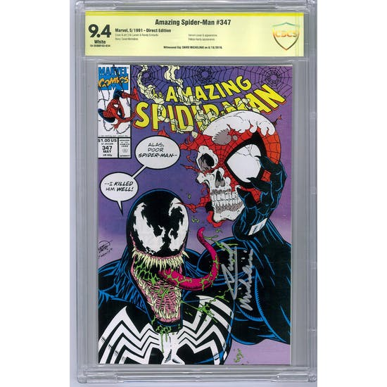 Amazing Spider-Man #347 CBCS 9.4 (W) *18-309BF4D-034*