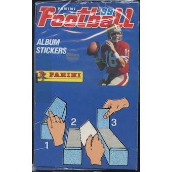 1989 Panini Stickers Football Box