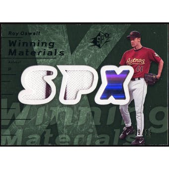 2007 Upper Deck SPx Winning Materials Dual Green #RO Roy Oswalt /15
