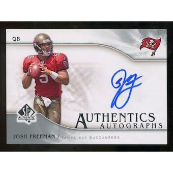 2009 Upper Deck SP Authentic Autographs #SPJF Josh Freeman Autograph