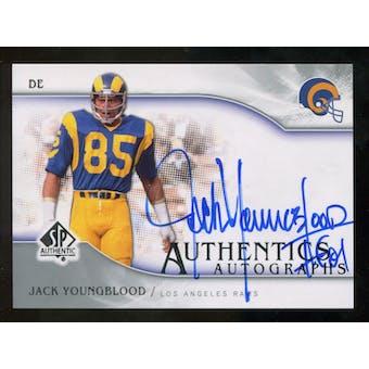 2009 Upper Deck SP Authentic Autographs #SPJY Jack Youngblood Autograph