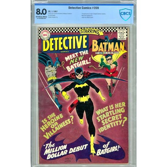 Detective Comics #359 CBCS 8.0 (OW-W) *18-43F5DDD-003*