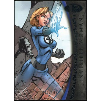 2012 Upper Deck Marvel Premier #2 Invisible Woman /199