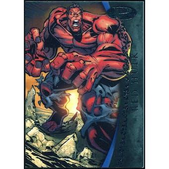 2012 Upper Deck Marvel Premier #12 Red Hulk /199