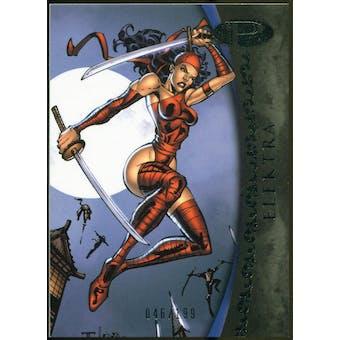 2012 Upper Deck Marvel Premier #38 Elektra /199