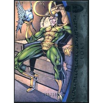2012 Upper Deck Marvel Premier #43 Loki /199