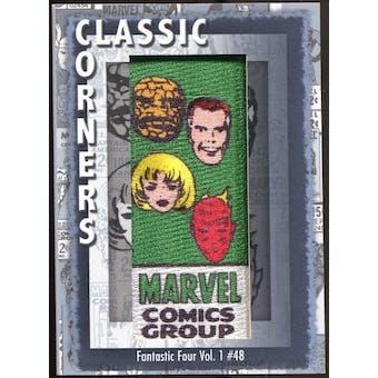 2012 Upper Deck Marvel Premier Classic Corners #CC3 Fantastic Four #48 D
