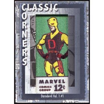 2012 Upper Deck Marvel Premier Classic Corners #CC9 Daredevil #1 D