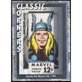 2012 Upper Deck Marvel Premier Classic Corners #CC12 Journey Into Mystery #91 D
