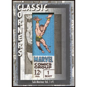 2012 Upper Deck Marvel Premier Classic Corners #CC13 Sub-Mariner (Vol. 1) #1 D