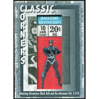 2012 Upper Deck Marvel Premier Classic Corners #CC22 Amazing Adventures/ Black Bolt and The Inhumans #10 C