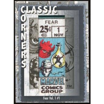 2012 Upper Deck Marvel Premier Classic Corners #CC33 Fear #1 D