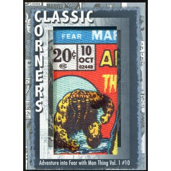 2012 Upper Deck Marvel Premier Classic Corners #CC34 Adevnture Into Fear With Man-Thing #10 C