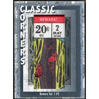 2012 Upper Deck Marvel Premier Classic Corners #CC36 Beware #2 C