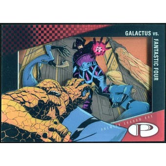 2012 Upper Deck Marvel Premier Shadowbox #S2 Fantastic Four/Galactus D