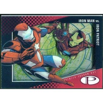 2012 Upper Deck Marvel Premier Shadowbox #S13 Iron Patriot/Iron Man D