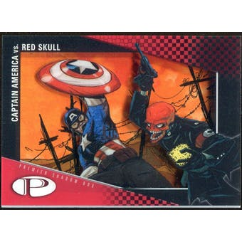 2012 Upper Deck Marvel Premier Shadowbox #S15 Red Skull/Captain America D