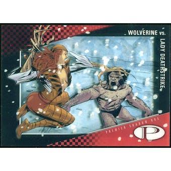 2012 Upper Deck Marvel Premier Shadowbox #S17 Wolverine/Lady Deathstrike D