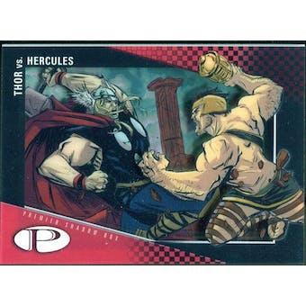 2012 Upper Deck Marvel Premier Shadowbox #S19 Thor/Hercules C