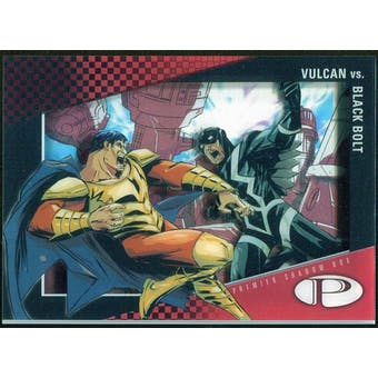 2012 Upper Deck Marvel Premier Shadowbox #S24 Vulcan/Black Bolt C
