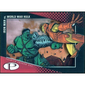 2012 Upper Deck Marvel Premier Shadowbox #S26 World War Hulk/Iron Man C
