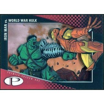 2012 Upper Deck Marvel Premier Shadowbox #S26 World War Hulk/Iron Man C