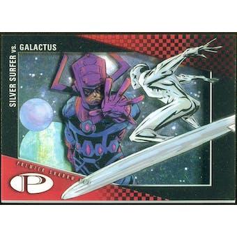 2012 Upper Deck Marvel Premier Shadowbox #S33 Silver Surfer/Galactus D