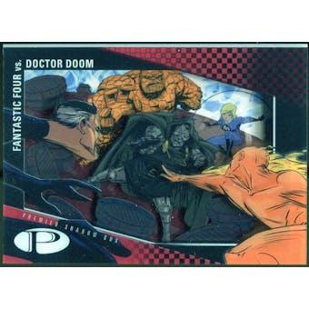 2012 Upper Deck Marvel Premier Shadowbox #S34 Fantastic Four/Doctor Doom C