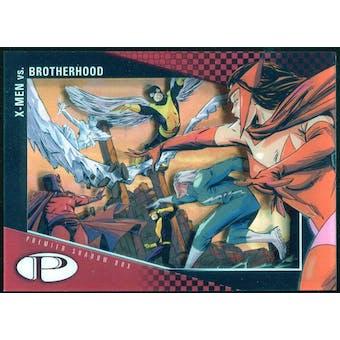 2012 Upper Deck Marvel Premier Shadowbox #S35 Brotherhood/X-Men B