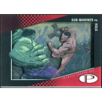 2012 Upper Deck Marvel Premier Shadowbox #S36 Hulk/Namor B