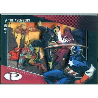 2012 Upper Deck Marvel Premier Shadowbox #S40 The Avengers/X-Men C